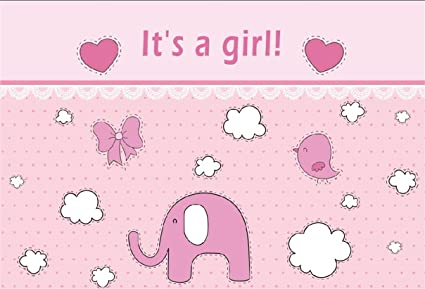 amazon com csfoto 5x3ft background for sweet girl baby shower