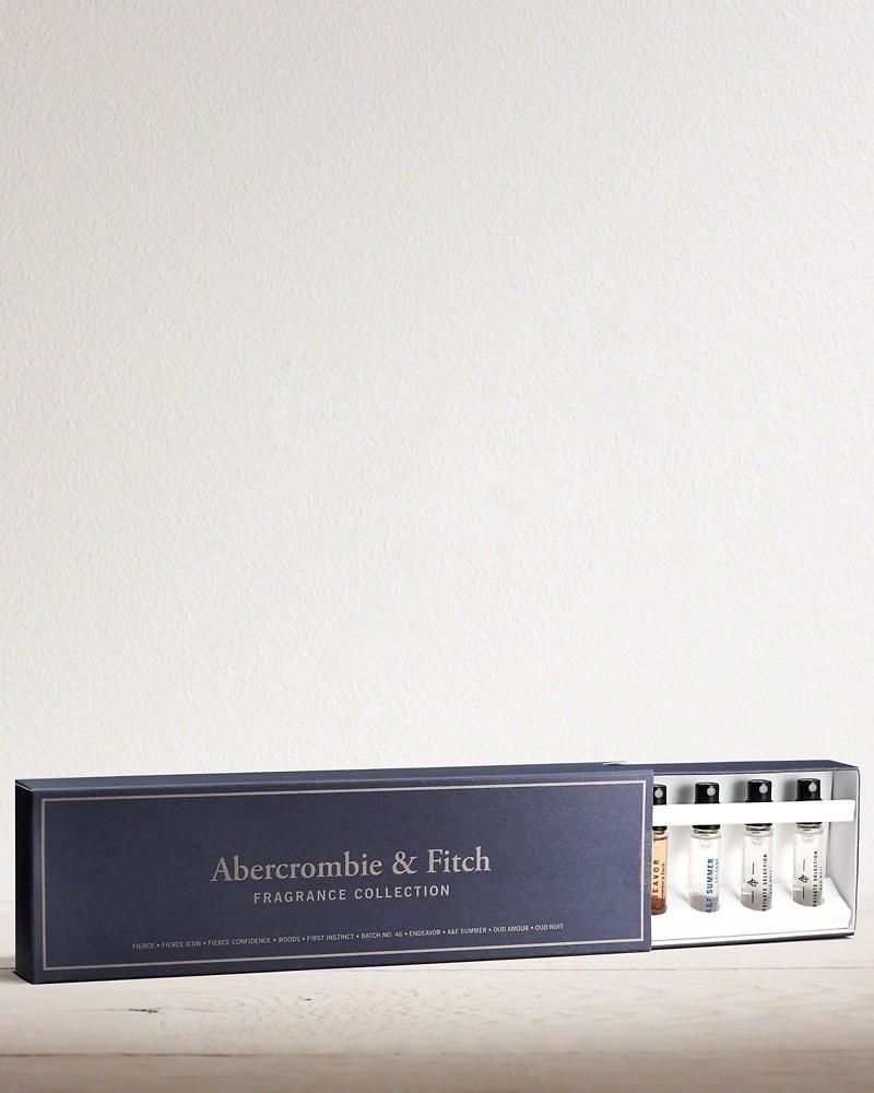 Amazon.com : Abercrombie & Fitch Men Fragrance Collection 10 pcs ...