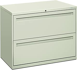 product image for HON 782LQ 700 Series 36 by 19-1/4-Inch 2-Drawer Lateral File, Light Gray