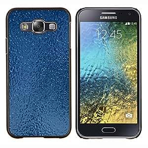 TECHCASE---Cubierta de la caja de protección para la piel dura ** Samsung Galaxy E5 E500 ** --Textura Helado Hielo