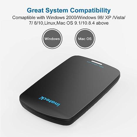 Inateck USB 3.0 Carcasa para Disco Duro para 9.5mm 7mm SATA HDD ...
