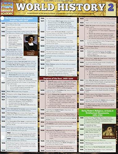World History 2 (Quick Study Academic)