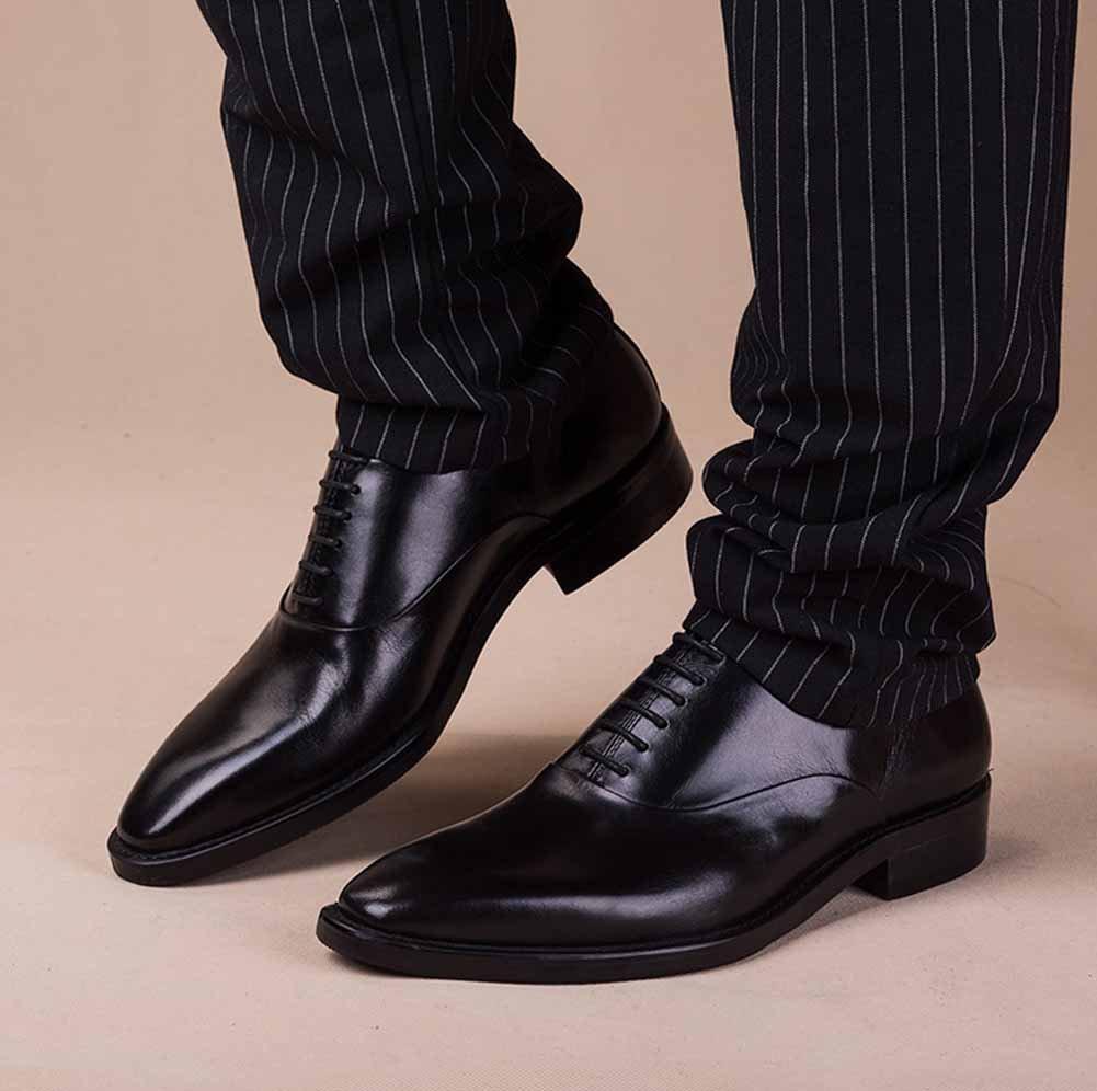 GLSHI Männer Business Kleid Kleid Business Schuhe British Lace Up wies Oxford Arbeitsschuhe Mode Hochzeit Schuhe 521eb8