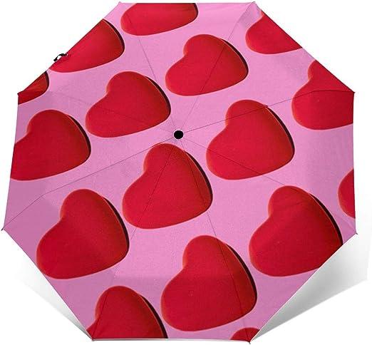 HSGGHOO - Paraguas Reversible Universal Plegable para el día de ...