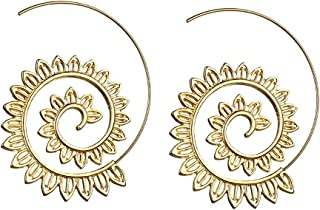 emorias 1Pair Silver Earrings Fashion Gold Crash The Pendants of Hook Women's Drop Girls Earrings for Jewelry Accessories