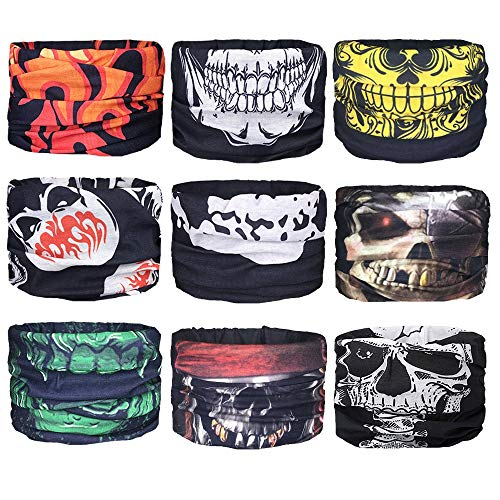 Mascaras Para El Sol - Face Mask Bandana Neck Gaiter Tube Scarf Headband With Cold, Sun, Dust Protection , For Men And Women As Motorcycle Head Shield, Hunting, Hiking, Fishing, Running Yoga Balaclava -