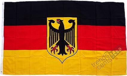 Alemania Bandera ceremonial con Águila -Grande Formato 250 x 150 ...