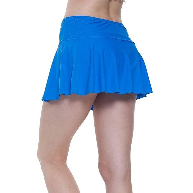 fb470cf6c8e11c YoungSoul Damen Baderock Tankini/Bikini Rock Badeshorts Strandrock mit  Integrierter Hose: Amazon.de: Bekleidung