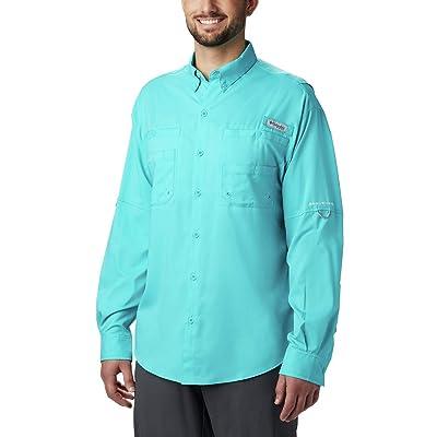 Columbia Men's Tamiami Ii Long Sleeve Shirt, Geyser, Medium: Clothing