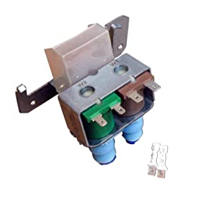 Compatible Refrigerator Water Valve for GE Directly Replaces WR57X10051 WR57X10032 AP3672839 PS901314 Pump