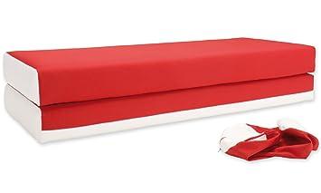 Innovation Dulox Schlafsofa 02 Red Amazonde Küche Haushalt