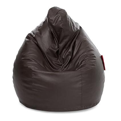 Terrific Amazon Com Brown Beanbag Arm Chair Cover Adult Gaming Bean Machost Co Dining Chair Design Ideas Machostcouk