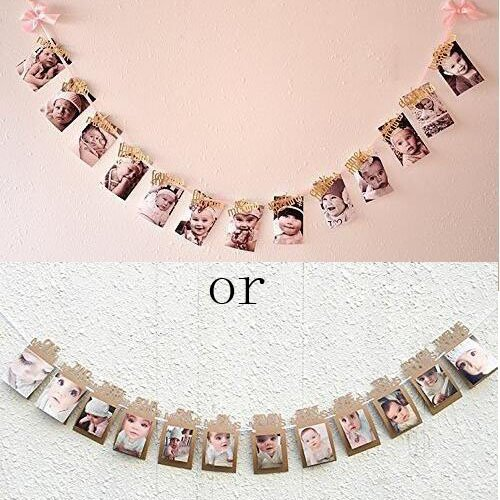 Birthday Decorations Banner Monthly Garland product image
