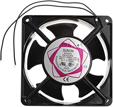 Accessories DP200A 2123XSL 12038 120mm Sleeve Bearing 220-240V AC 2-Wire Case Cooling Fan