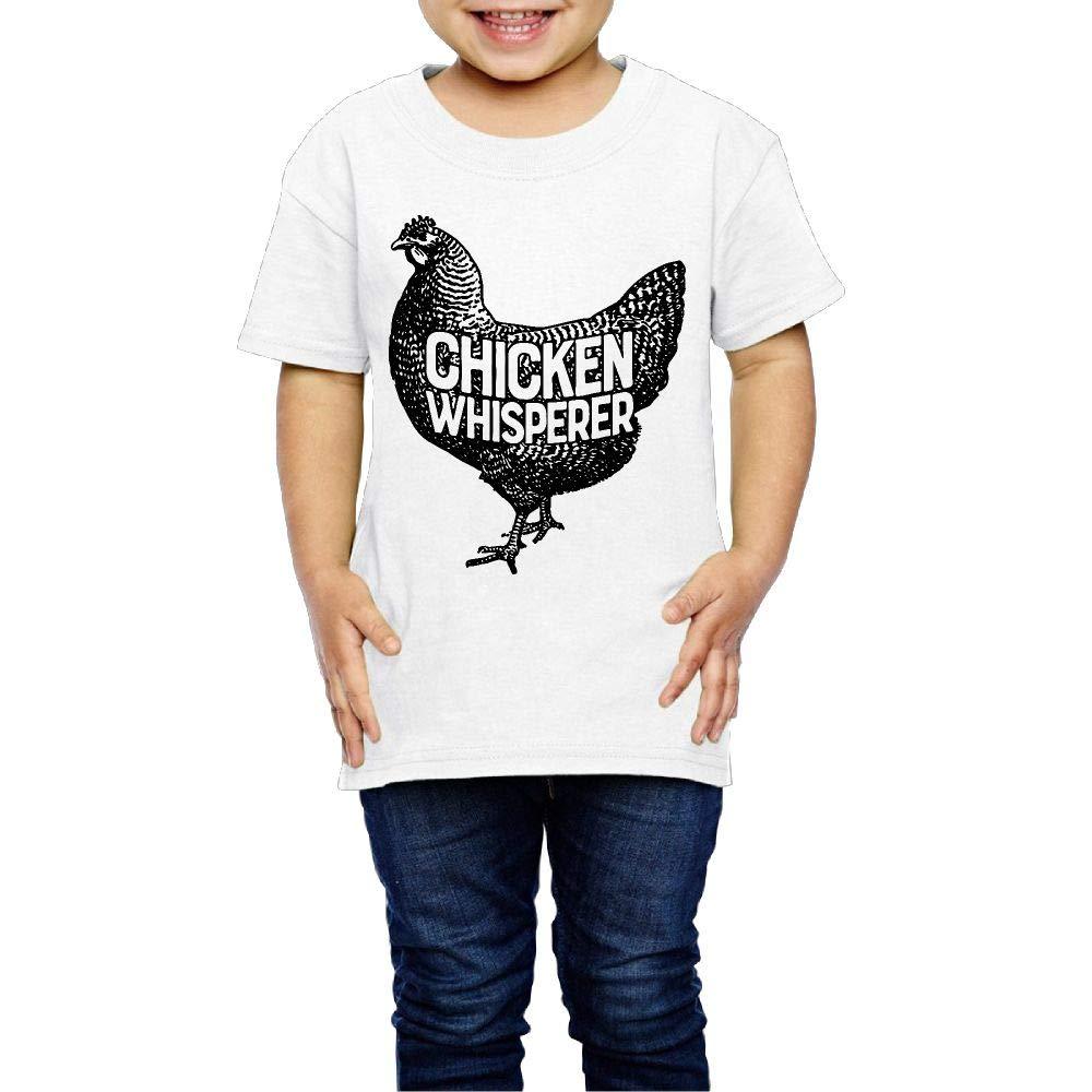 XYMYFC-E Chicken Whisperer 2-6 Years Old Children Short Sleeve T-Shirt