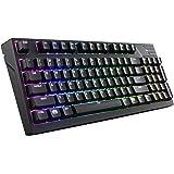 Cooler Master MasterKeys Pro M RGB Mechanical Gaming Keyboard, Cherry MX Brown, RGB LED, TenKey (Medium)