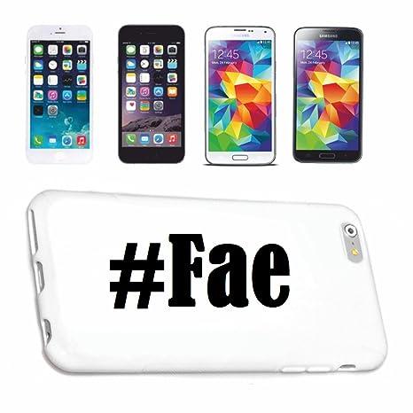 cubierta del teléfono inteligente Samsung S7 Galaxy Hashtag #Fae en Red Social Diseño caso duro