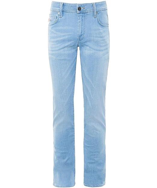 Tramarossa Herren Slim-fit Jeans Leonardo 24 7 Hellblau  Amazon.de ... 48c99495c5