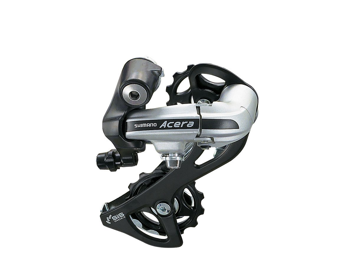 Shimano Acera M360 7 and 8-Speed Rear Derailleur with SmartCage, Black by SHIMANO