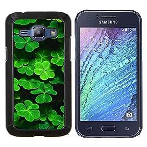 BearCase / Cubierta de protección Caso duro de la contraportada de Shell Plástico /// Samsung Galaxy J1 J100 /// Trébol lindo
