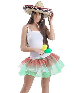 Islander Fashions para Mujer Fiesta Mexicana Instant�NEA Vestido ...