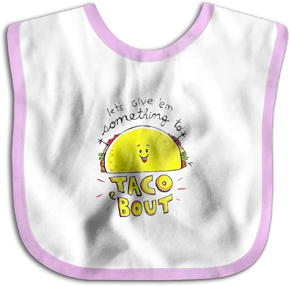 Marima Taco Bout Personalized Scarf Bib Feeding /& Teething Fancy Baby Bibs and Burp Cloth Polyester Cotton