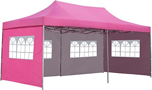 10 x 20 ft Pop Up toldo tienda de fiesta boda GAZEBO refugio con ...