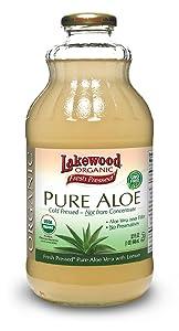 Lakewood, Organic Aloe Vera Juice, 32 oz