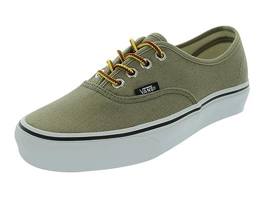 Authenic Unisex 10 oz Canvas Coriander Low Top Sneakers