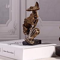 PP&DD Maschera Viso Figurine,Creativo Astratto Mestieri Statue,Sculture.per Ufficio Soggiorno Art Regalo Decorazioni Casa