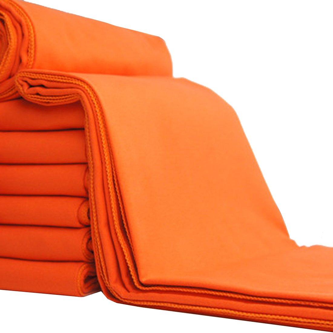 Andux Zone superfino de fibra al aire libre Toalla de secado rápido,trekking mochilero, natación, running, golf MJ-02 naranja: Amazon.es: Deportes y aire ...