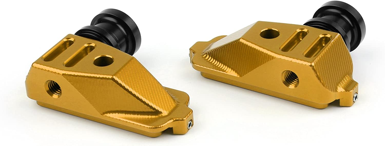 Mounts For Honda CBR500R 2014-2015 Areyourshop Motorcycle CNC Swingarm Spool Adapters