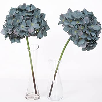 Amazon luyue 15 artificial silk hydrangea flowers bounquet luyue 15 artificial silk hydrangea flowers bounquet home wedding party decorpack of mightylinksfo Image collections
