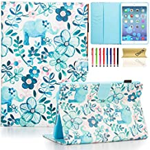 iPad mini 4 Case Cover, Dteck(TM) Ultra Slim PU Leather Stand Smart Cover with [Auto Sleep/Wake Feature] [Corner Protection] Protective Case for Apple iPad mini 4 (2015 Release), Elephant Tribe