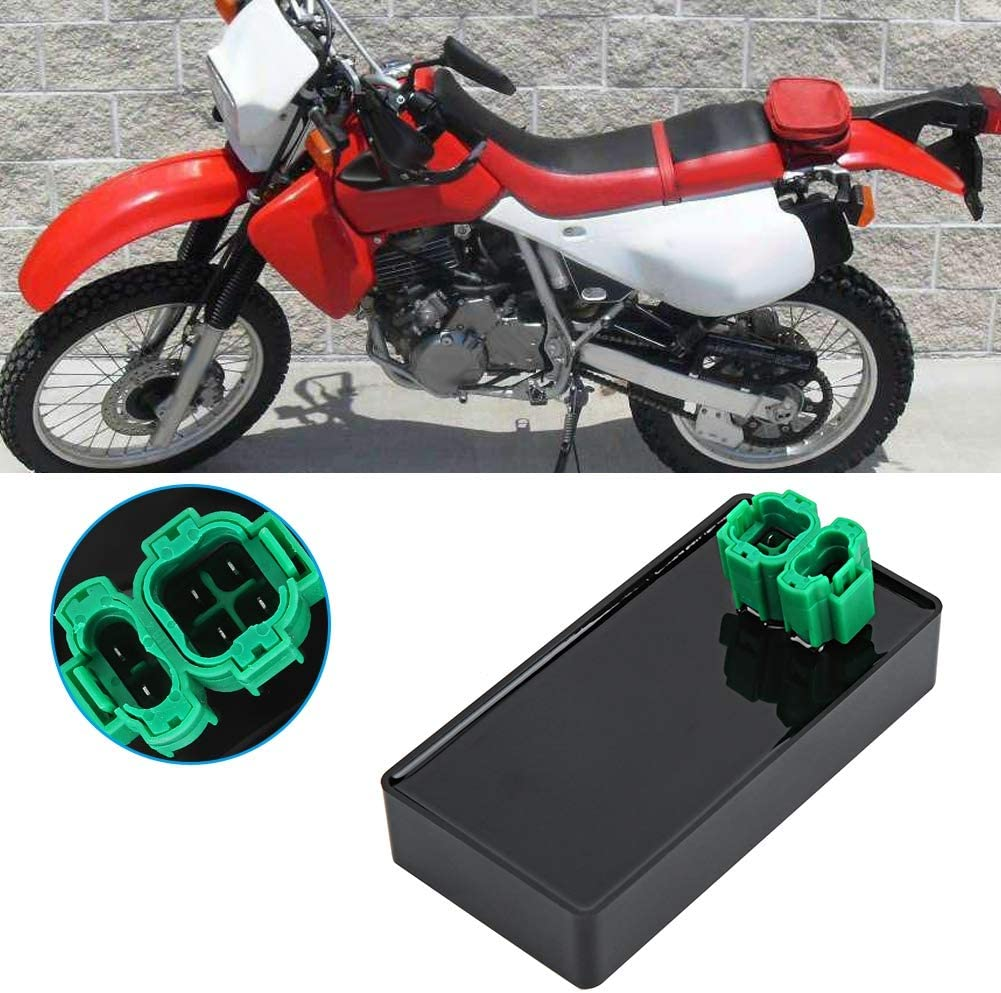 Terisass Ignitor CDI Box Unit Ignitor Motorcycle Ignition Module Replacement Accessories Igniter Device Ignition Coil Fit for Honda XR650L 1993-2015