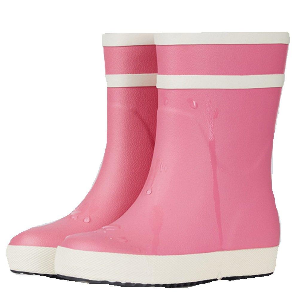 NAN Regen Stiefel Weiblichen Rohr Frühling Und Sommer Erwachsene Mode Gummischuhe rutschfeste Wasserdichte Schuhe Schuhe Frauen Regen Stiefel Wasserdichte Schuhe ( Farbe   Rosa  größe   EU40 UK7 CN41 )