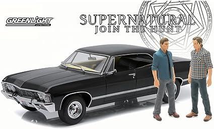 1:18 Greenlight Filmmodell SUPERNATURAL 1967 Chevrolet Impala Super Sport Sedan