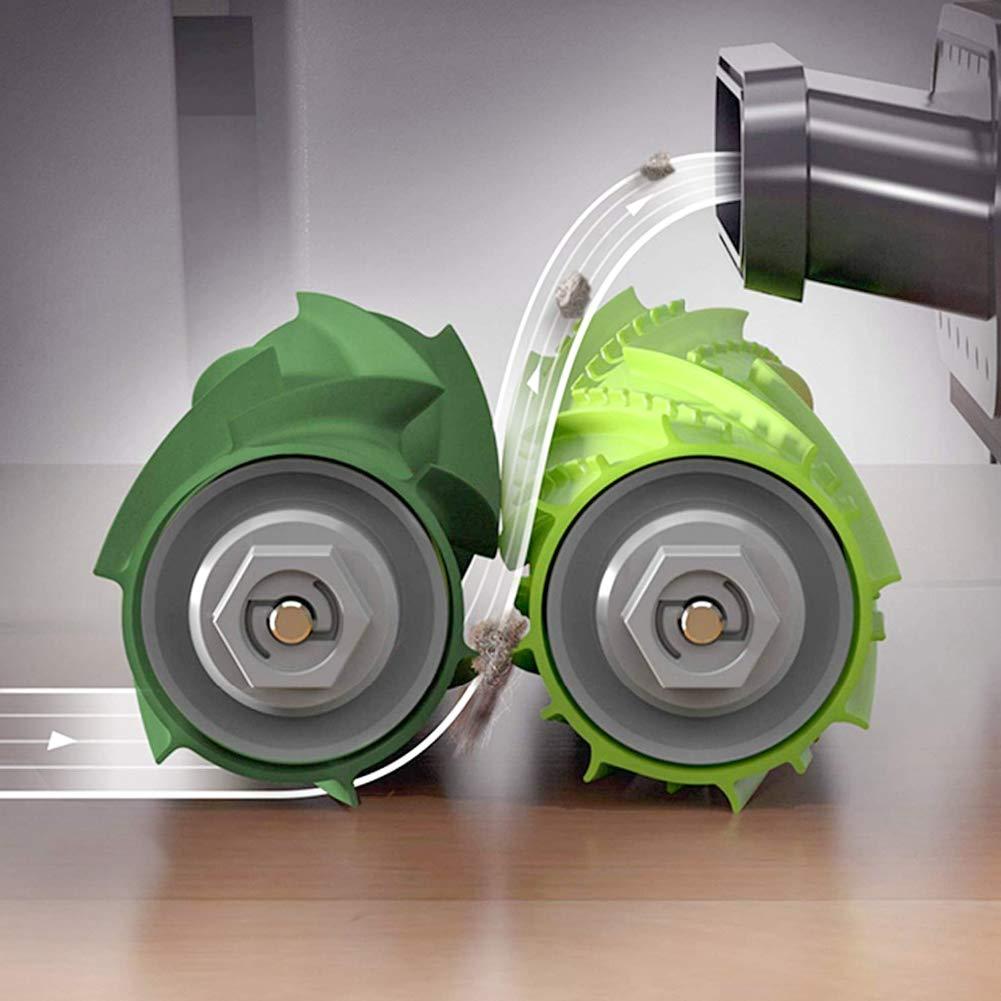 FHzytg 4 piezas de repuesto cepillo principal y 1 pieza cepillo peque/ño accesorios para iRobot Roomba i7 i7 e5 e6 e7 aspiradora robot