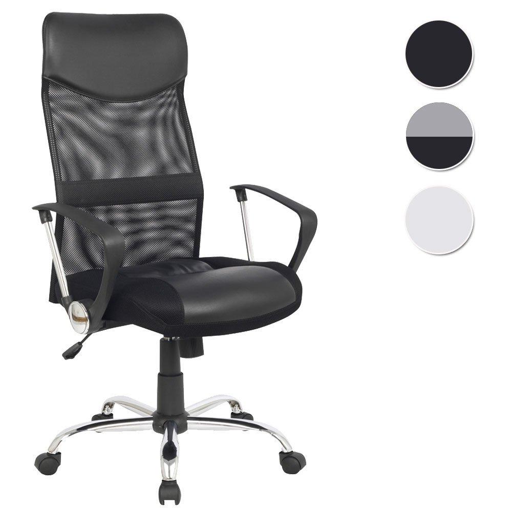 SixBros Design Sillón de oficina Silla de oficina Silla giratoria negro H