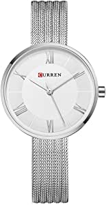 Curren Casual Watch For Women Analog Stainless Steel - 9020