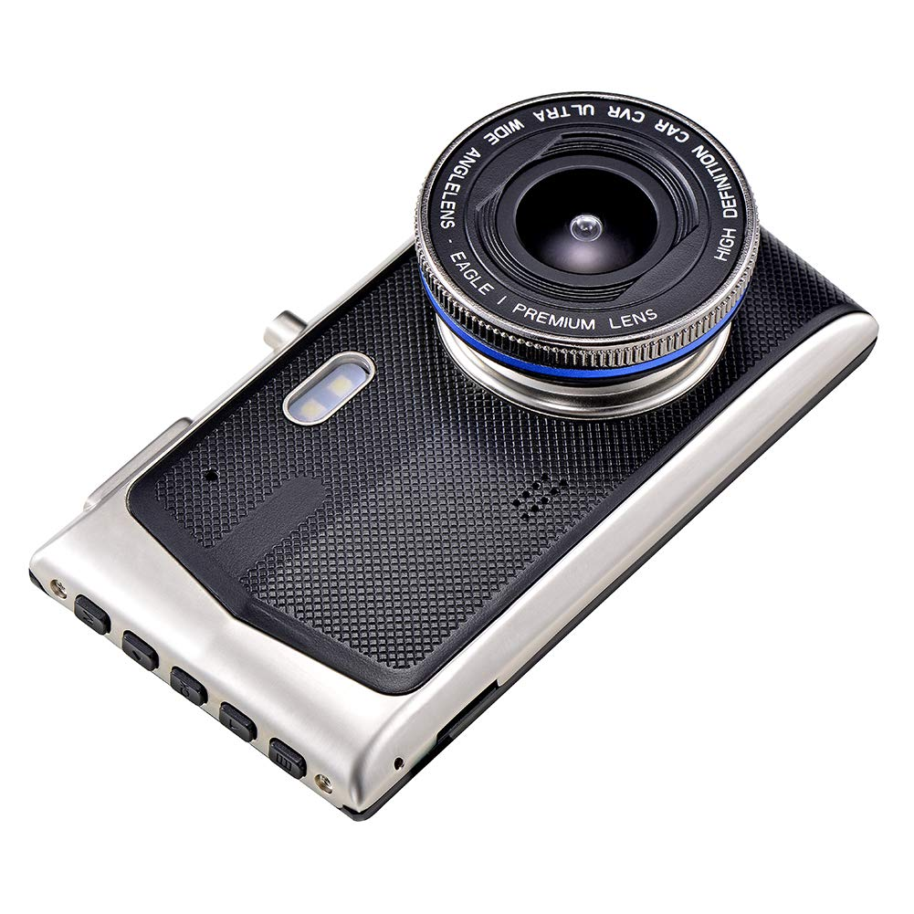 Shentesel Car DVR 4inch 1080P HD Touch Screen Dual Lens Dash Cam Camera Video Recorder