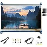 7 inch 800×480 Capacitive Touch Screen HDMI Interface Custom Raspbian LCD Monitor Mini PC Supports Raspberry Pi 4 3 2 1 Model B B+ A+ & BeagleBone Black & Banana Pi/Banana Pro @XYGStudy