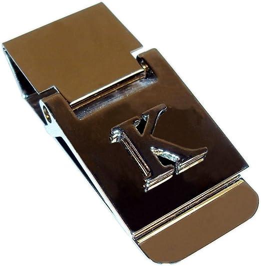 Money Clip With Alphabet Monogram Polished Stainless Steel Alphabet K At Amazon Men S Clothing Store