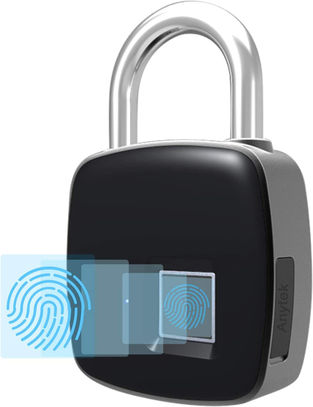 Smart Fingerprint Padlock Small Size Padlock Cabinet Fingerprint Lock O5W3