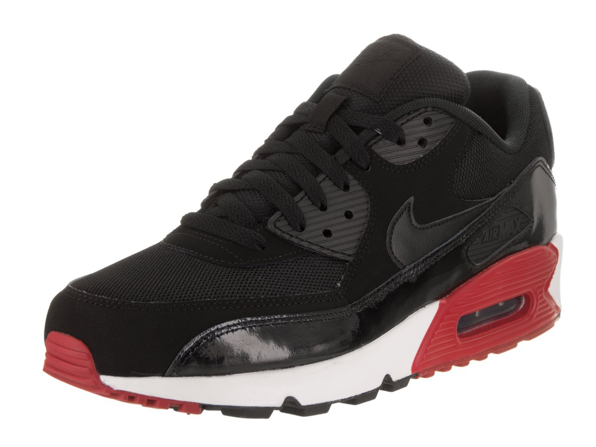 6359c6de7d Galleon - Nike Men's Air Max 90 Essential Black/Black/Gym Red/White Running  Shoe 13 Men US