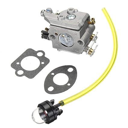 MXBIN Carburador Carb para Husqvarna 322C 322L 323C 323L ...