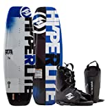 Hyperlite Motive Wakeboard with Frequency Bindings