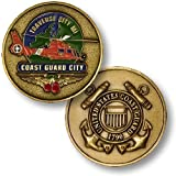 USCG Traverse City -- Coast Guard City Challenge Coin by Northwest Territorial Mint