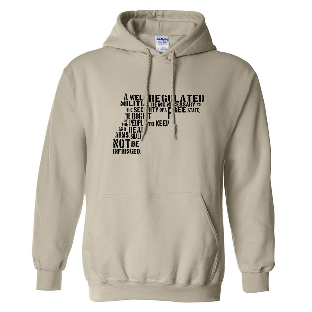 Pro-Gun Adult Hooded Sweatshirt in 7 Colors