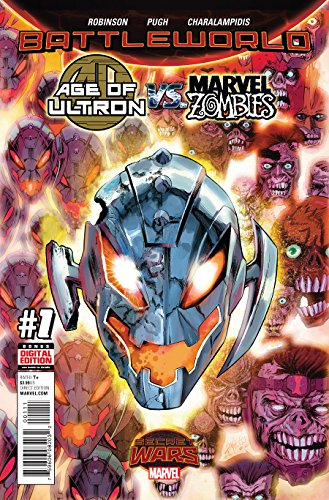 (Age of Ultron Vs Marvel Zombies #1 Comic Book)